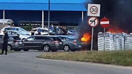Pożar aut w Gdańsku