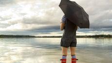 Ciepły, ale burzowy dzień nad morzem i na Mazurach