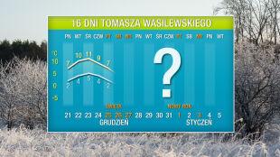 Pogoda na 16 dni: ciepło do Wigilii, a potem zmiana