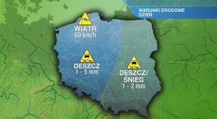 Warunki drogowe we wtorek 28.01
